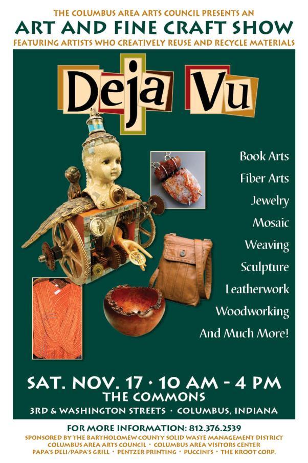 Deja Vu Art Festival Tomorrow!
