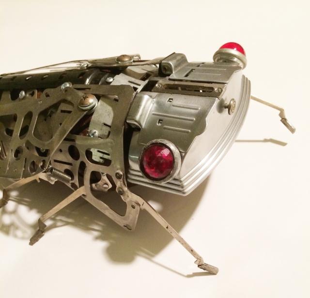 RoboCicada-head